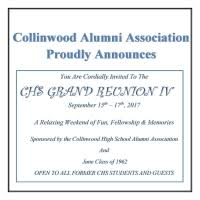 collinwood high school yearbook alumni association announces grand reunion iv for 2017 the