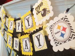 pittsburgh steelers centerpieces my creations pinterest