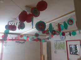 hyotenka christma decoration classroom december classroom