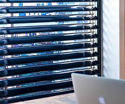 Solar Powered Window Blinds Panel Window Blinds