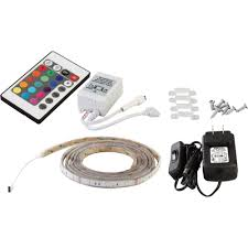 canarm led color changing flexible tape light kit u2014 3 meters
