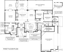 2 floor villa plan design laurel ranch floor plans empty nester house plans