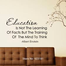 wall art design educational black albert einstein educational wall art black albert einstein education not the learning decal home diy decoration mural removable decor stickers