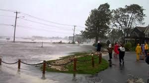 hurricane irene bay view beach milford ct 2011 youtube