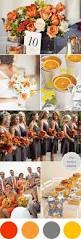 shades of orange wedding colors i love shades of orange gray yellow the