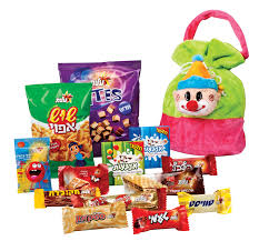 purim bags buy clown plush bag of purim mishloach manot treats