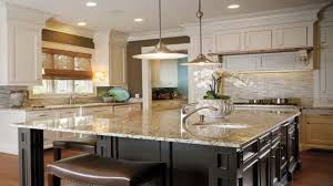 Cream Color Kitchen Cabinets Dual Color Kitchen Cabinets Cream Colored Kitchen Cabinets With
