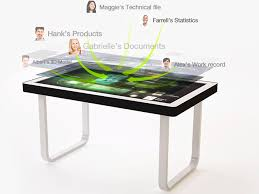 Touch Screen Coffee Table by Tablertv U0027s Touch Screen Coffee Table Lets You Interact With