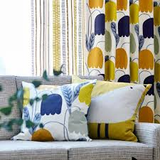 Scion Curtain Fabric Scion Noukku Fabrics Fritilla Mister Smith Interiors