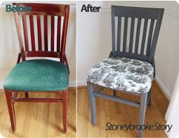 Upholster Dining Room Chairs by Best 25 Painted Dining Chairs Ideas On Pinterest Spray Painted