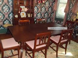 Antique Dining Room Table by 11pc Mahogany Dining Room Set Chippendale China Buffet Ebay Image