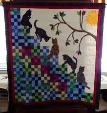 cat stairway to heaven quilt adaptation of mccall u0027s free online
