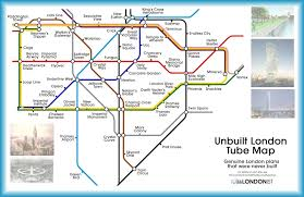 a tube map of the london that never was londonist