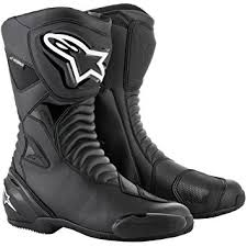 s boots amazon uk motorcycle alpinestars smx s boots wp black uk seller