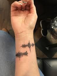 the 25 best sound wave tattoo ideas on pinterest voice tattoo