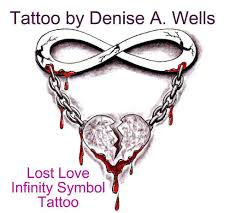 lost love tattoo design by denise a wells so called u0027infi u2026 flickr