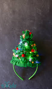 christmas tree hat tutorial for an ugly sweater party tikkido com