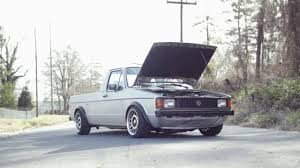 volkswagen rabbit pickup stanced mk1 caddy alh swap at eurowise charlotte nc youtube