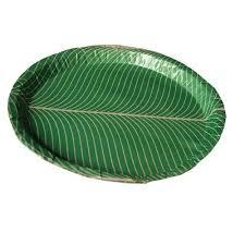 paper plates green leaf paper plate at rs 30 l n puram bengaluru
