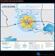 Radius Maps Regional Maps Baton Rouge Area Chamber Brac