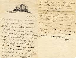 football writing paper a football martyr sbnation com the letter jack trice wrote from his hotel room the night before the minnesota game