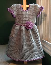 how to crochet a baby dress winter ribbed cable stitch youtube