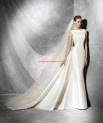 robe de mariã e traine robe de mariée sirène avec traine amovible en satin