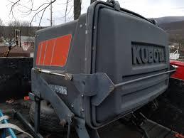 sold kubota gc f30a grass catcher vacuum orangetractortalks