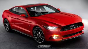 4door mustang all 2015 ford mustang rendered as a four door coupe