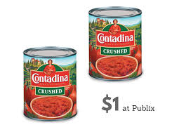 1 contadina canned tomatoes at publix southern savers
