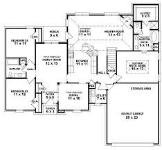 single story 4 bedroom house plans house floor plans single story 4 bedroom 3 5 bath single story