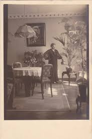 1920s home interiors watering the house plants home interior 1920s vintage photograph