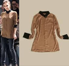 plus size silk blouse sale fashion beckham colorblock