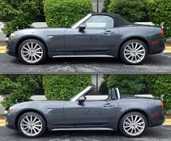 saab convertible green 2017 fiat 124 spider lusso the daily drive consumer guide