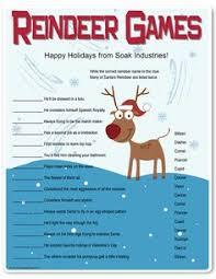 free printable reindeer activities roll a reindeer printable game number recognition christmas fun