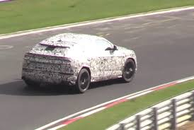 Lamborghini Urus Suv Lamborghini Urus Prototype Spotted At Nurburgring With V8 Sound