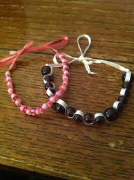 bracelet style images How to make a ribbon and bead bracelet style 1 snapguide jpg