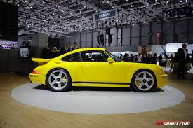 porsche ruf yellowbird 2017 ruf ctr revscene automotive forum