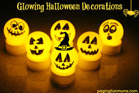 glowing decorations easy inexpensive