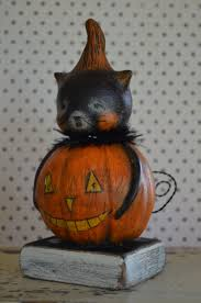 Black Cat Halloween Crafts 1522 Best Fall Halloween Decorations Images On Pinterest
