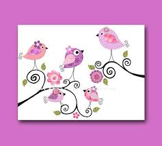 Nursery Bird Decor Bird Decor Birds Nursery Baby Nursery Decor Baby Nursery
