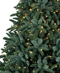 noble christmas tree 7 ft deluxe noble fir snap pre lit led christmas tree tree classics