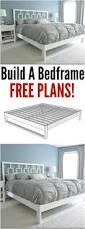 best 25 simple bed frame ideas on pinterest build a platform