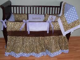 Cheetah Print Crib Bedding Set Leopard Baby Bedding This Custom 3 Baby Crib Bedding Set