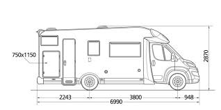 Auto Floor Plan Rates Mh6 Fiat Ducato 6 Berth Motorhome Camper Iceland Vehicle