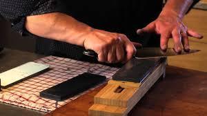sur la table knife sharpening free sharpening with bob kramer youtube