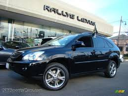 black lexus 2006 lexus rx 400h awd hybrid in black onyx 007027