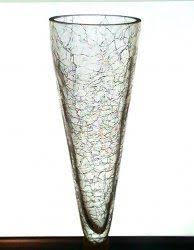 Hanging Glass Wall Vase Hanging Cone Wall Vase Vessel Clear 9 X 3 75 Clear This Glass