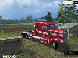 2016 kenworth cabover kenworth w900 v 1 0 mod for farming simulator 2015 15 fs ls