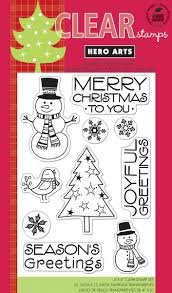 hero arts snowman christmas clear stamp set cl541 1457 p jpg 706